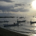 bateaux à Lovina