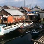 village de pêcheurs au port