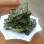 algues fris en guise d'apéro