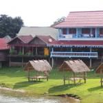 bungalow à gauche