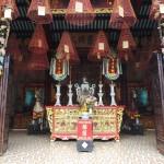 temple avec encens