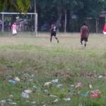 terrain de foot indonésien