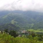 vue sur la vallée de Moni