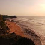 Balangan beach au sunset