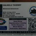carte de licence niveau 2