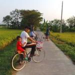 virée en vélo