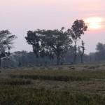 sunset à Sragen
