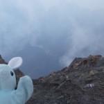 Pinpin dans le cratère