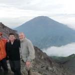 photo au top avec notre guide