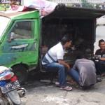 garage de pièces détachées