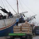 port de marchandises