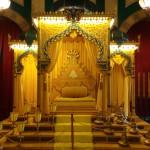 le trône du Sultan