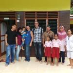 photo de famille chez Lisma