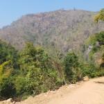 route d'accès cascade