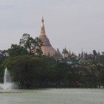 arrivée sur Shwedagon