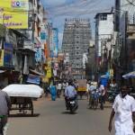 temple en plein centre