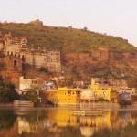 lac et fort de Bundi