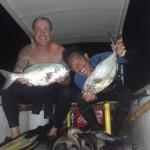 Nyoman et Paul l'Australien. 20 poissons en 1h30
