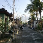 rue du village... rappelle Bali