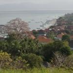 point de vue panoramique... Bali au fond