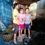 famille vivant de la culture d'algues