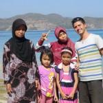 rencontre avec une famille en vacances
