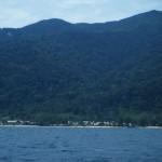 île de Tioman droit devant