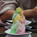 glace au maïs et colorants