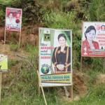 Affiches élections législatives partout (2014-2019)