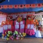 autel de mariage à Panpan