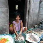 préparation pâte de coconuts