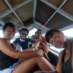 la Dream Team en route pour les méduses