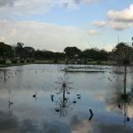jets d'eau au parc Rizal