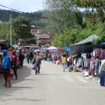 marché matinal à Sagada