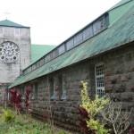 église à Sagada...Point de départ des rando