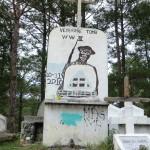 caveau 2nde guerre mondiale à Sagada...
