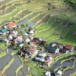 vue sur le village depuis la chambre