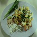 mon 1er repas... des Pad Thai miam
