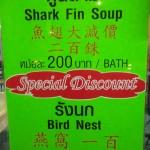 les chinois adorent la soupe de requin