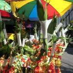 bambous décorés