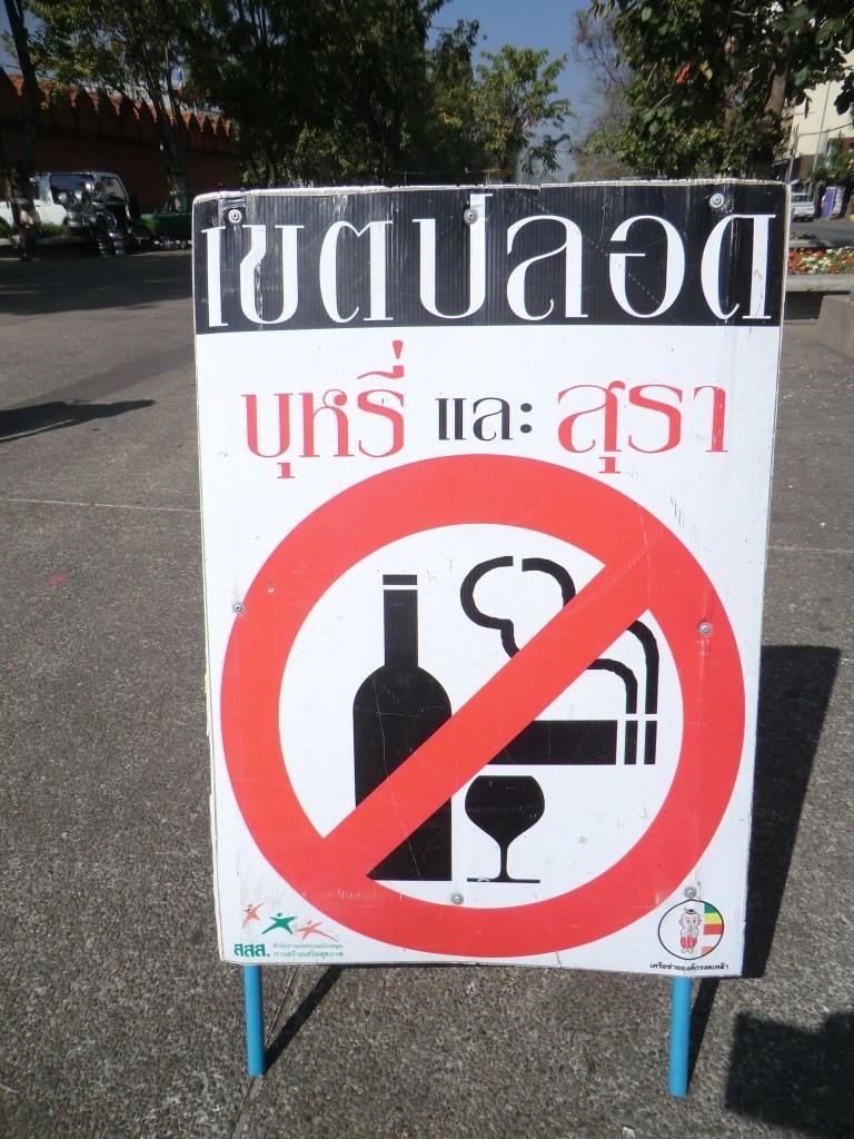 Français interdits à Chiang Mai ?!