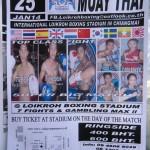 la boxe thaie à l'honneur