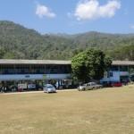 école dans la montagne
