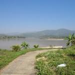arrivée sur le Mekong