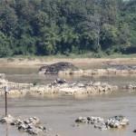 débit d'étiage du Mekong