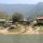 arrivée sur Muang Ngoi