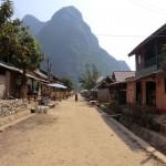 LA rue du village