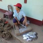 fabrication artisanale d'hélices