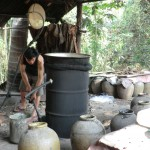 ... et de fabrication d'alcool de riz