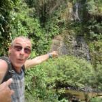 Thierry découvre la cascade